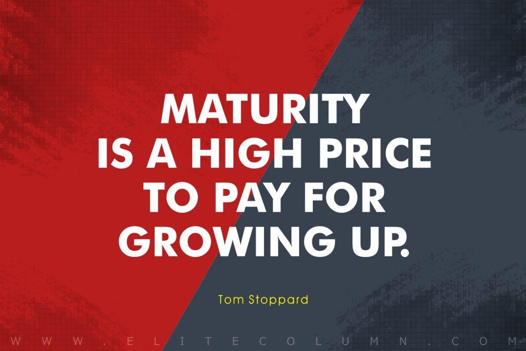 Maturity Quotes (4)