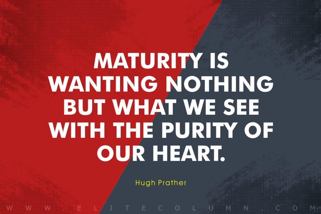 Maturity Quotes (8)