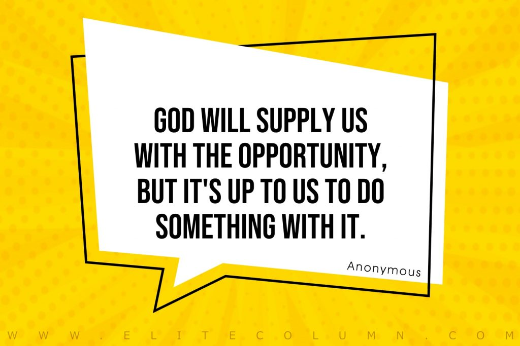 Opportunity Quotes (10)