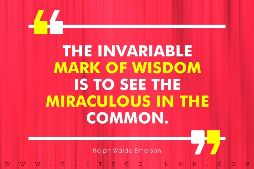 Ralph Waldo Emerson Quotes (5)