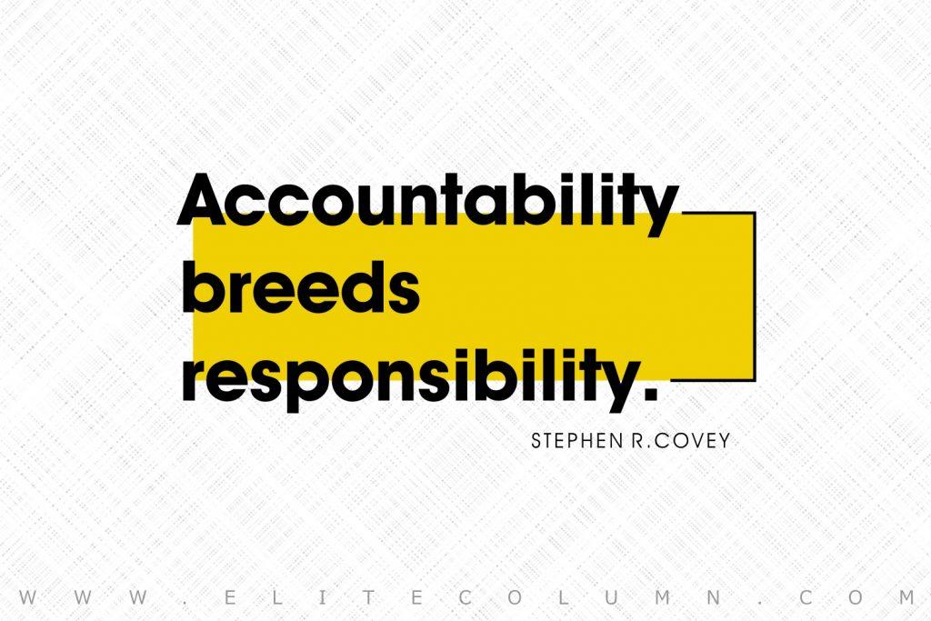 Responsibility Quotes (5)