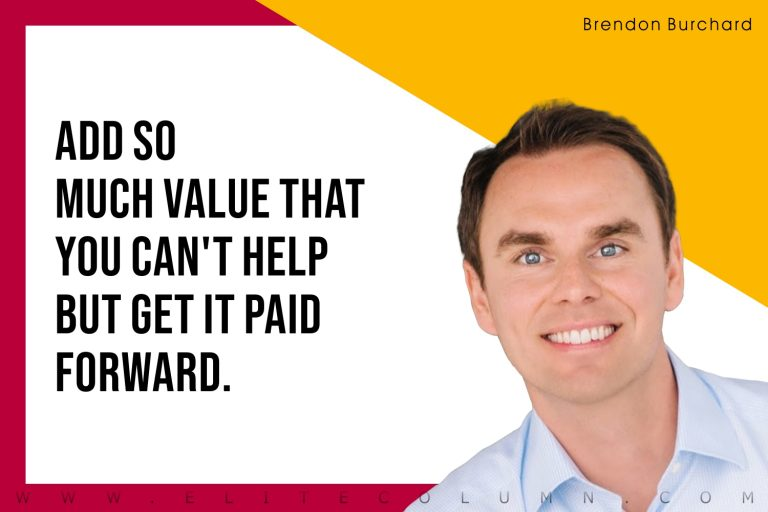 50 Brendon Burchard Quotes That Will Motivate You