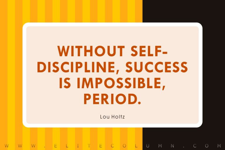 50 Discipline Quotes That Will Inspire You