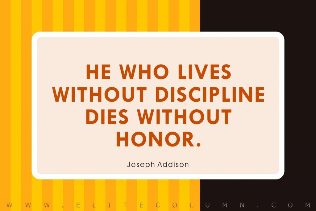Discipline Quotes (5)