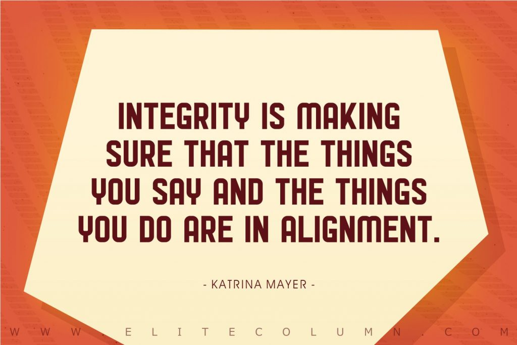 Integrity Quotes (5)