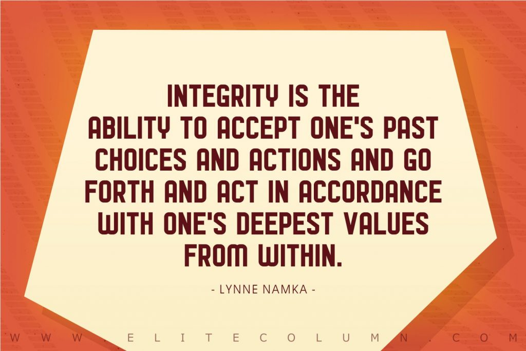 Integrity Quotes (8)