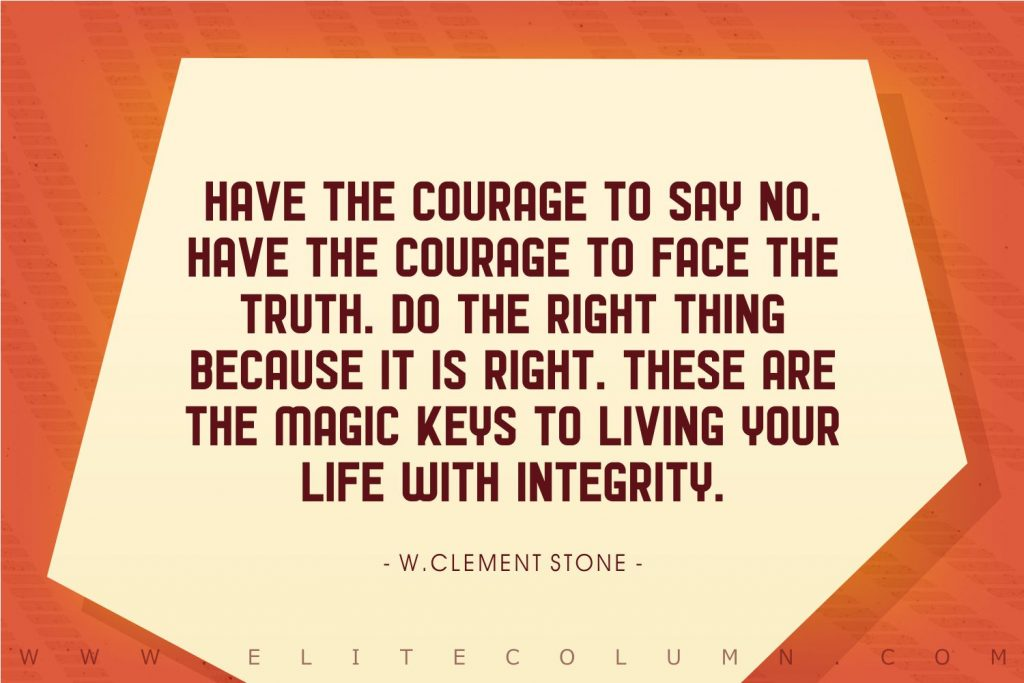 Integrity Quotes (9)