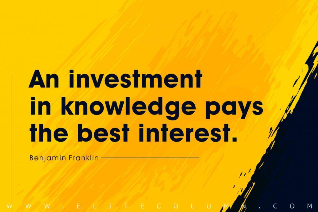 Knowledge Quotes (10)