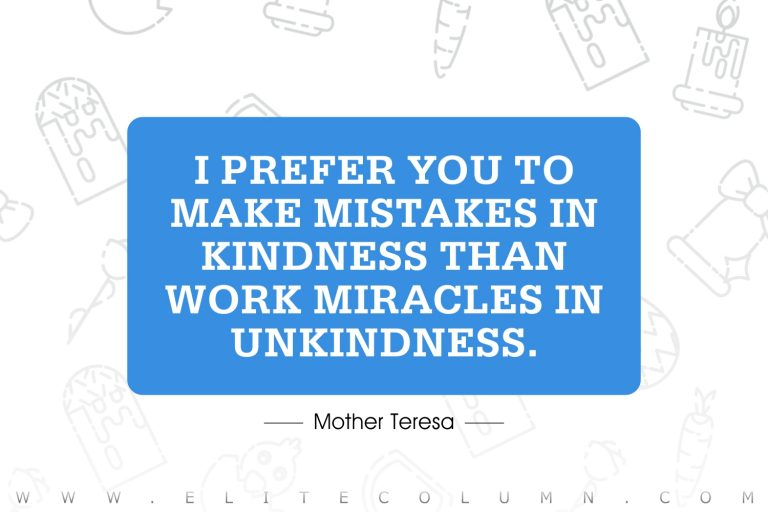 100 Mother Teresa Quotes That Will Inspire You
