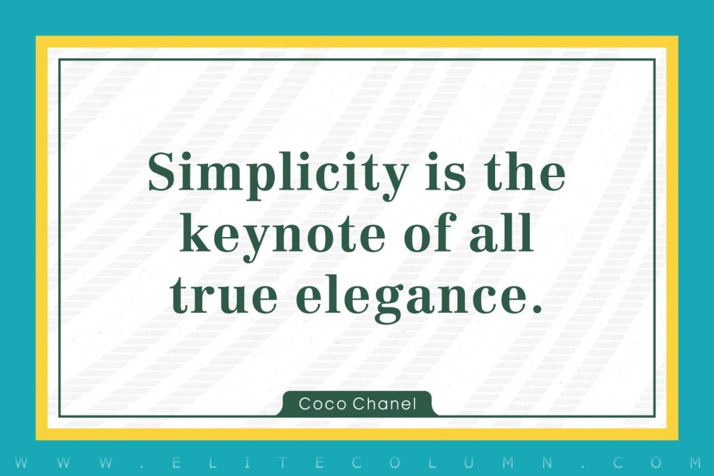 Simplicity Quotes (2)