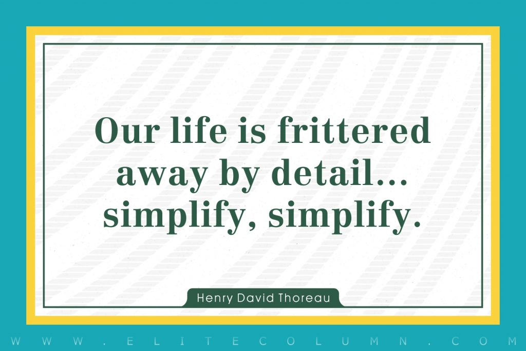 Simplicity Quotes (3)
