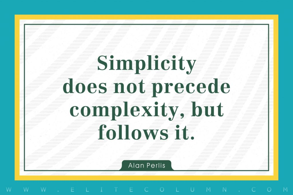 Simplicity Quotes (4)