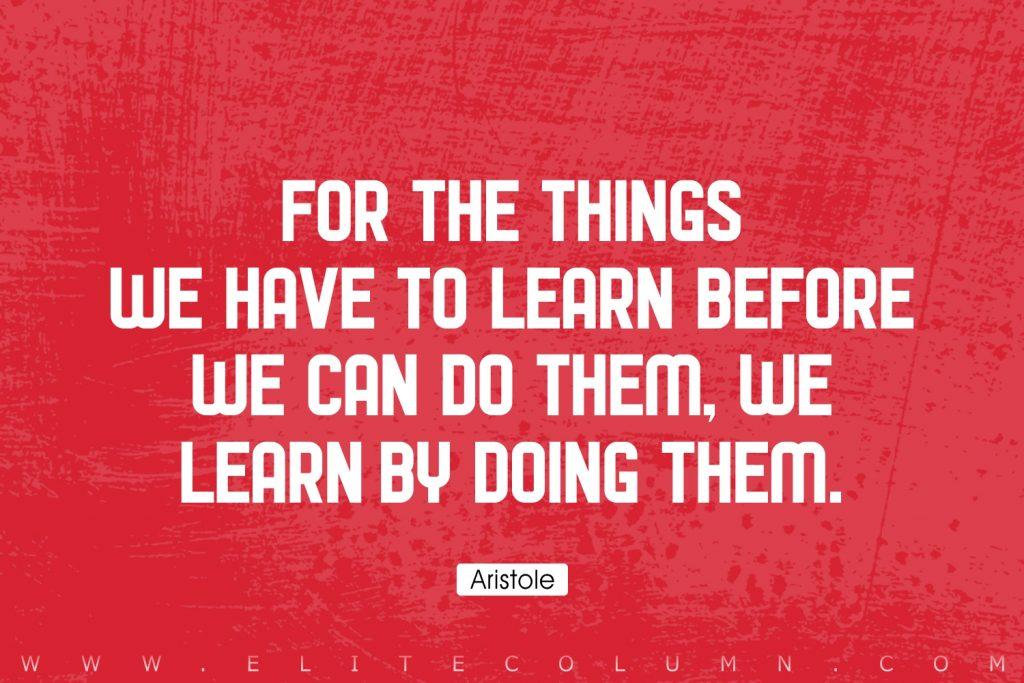 Aristole Quotes (5)