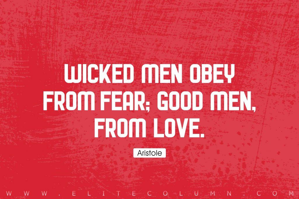 Aristole Quotes (8)