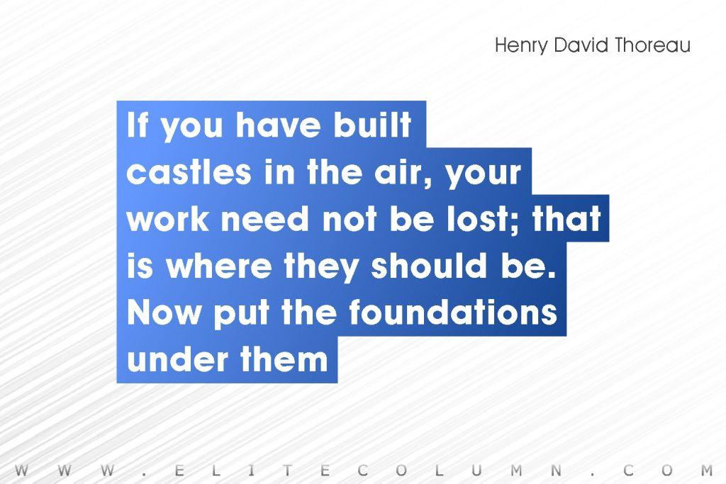 Henry David Thoreau Quotes (10)