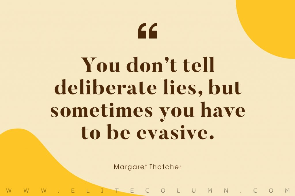 Margaret Thatcher Quotes (3)