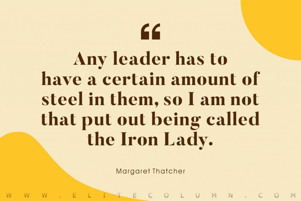 Margaret Thatcher Quotes (6)