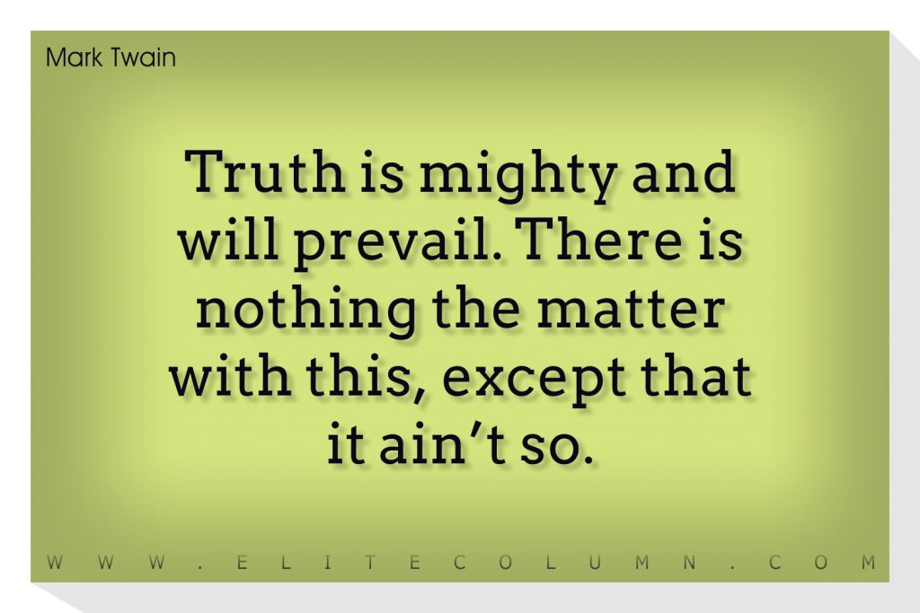 Mark Twain Quotes (6)
