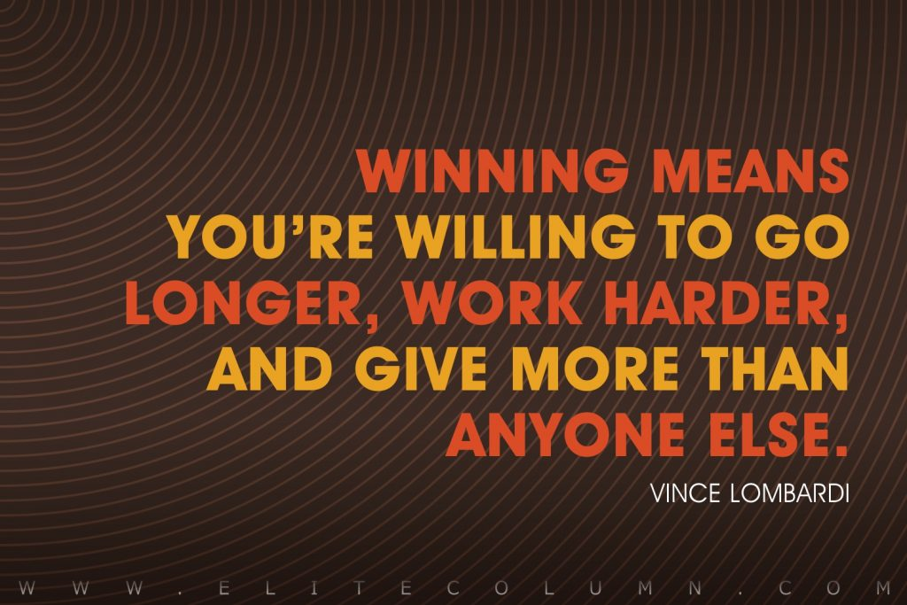 Vince Lombardi Quotes (5)