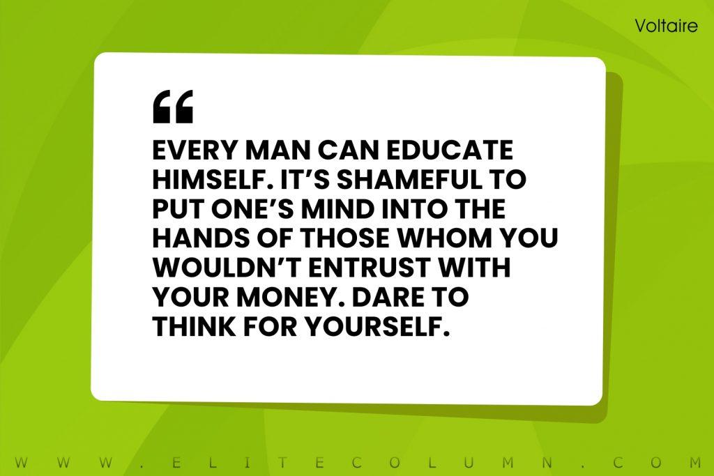 Voltaire Quotes (3)