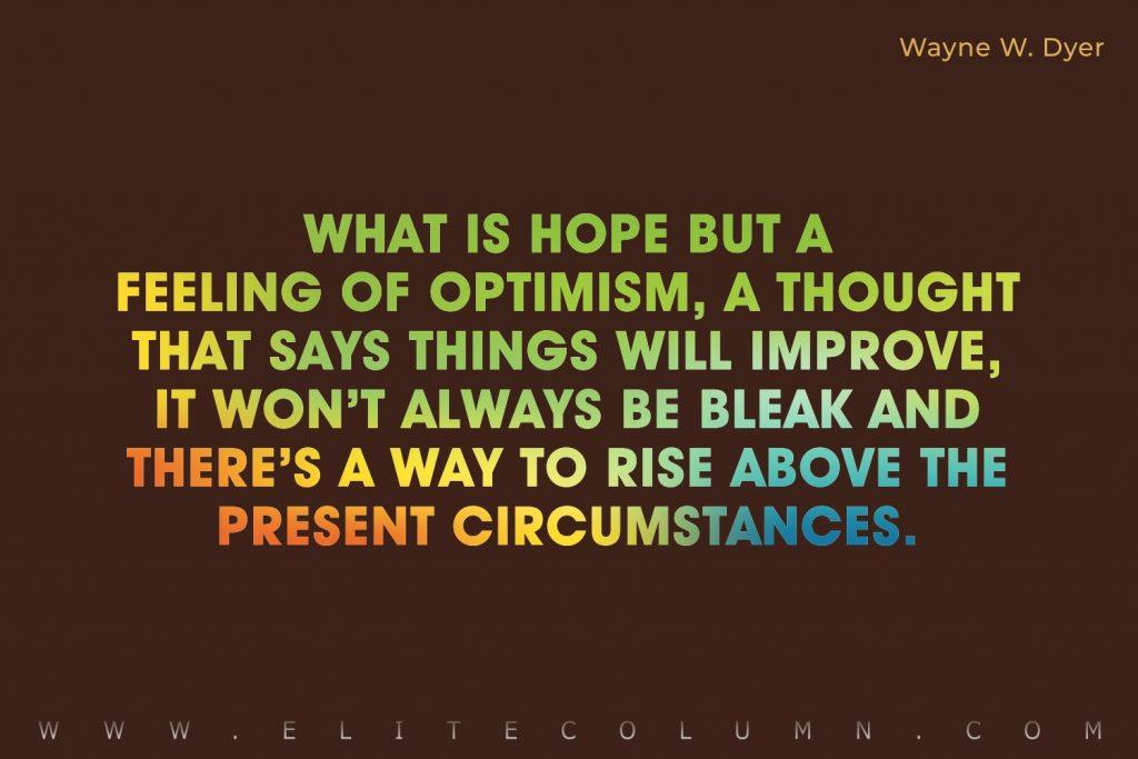 Optimistic Quotes (3)