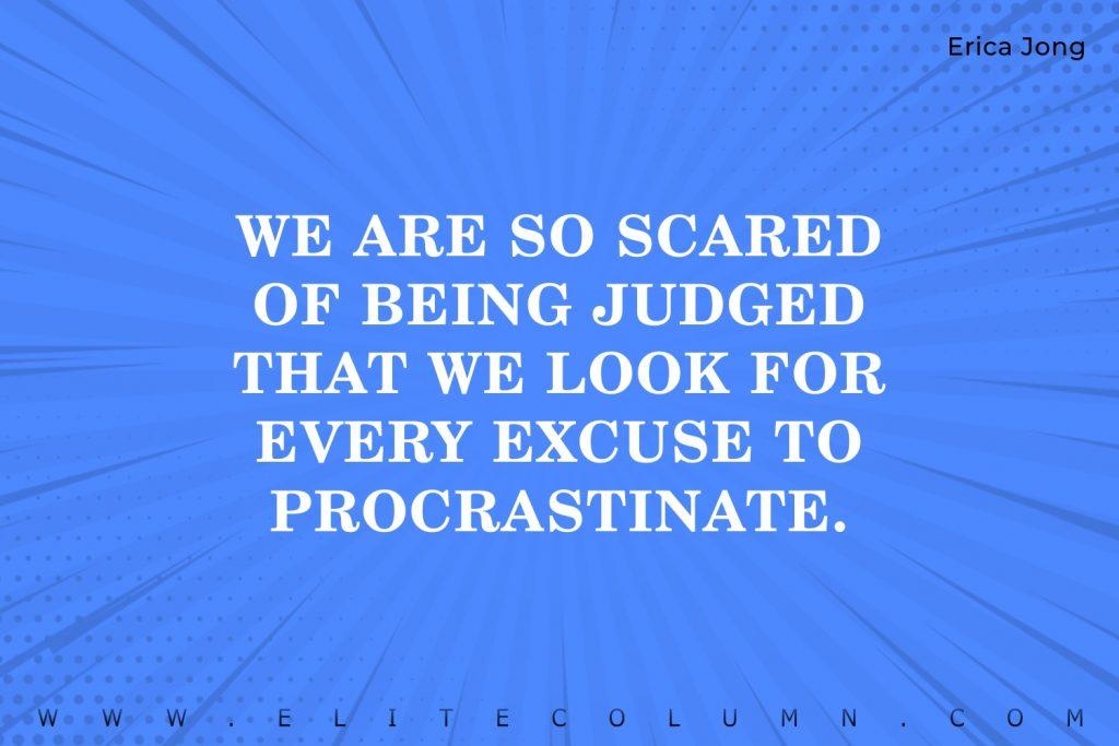 Procrastination Quotes (5)