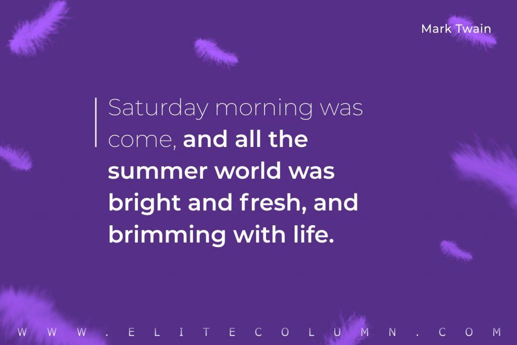 Saturday Quotes (6)