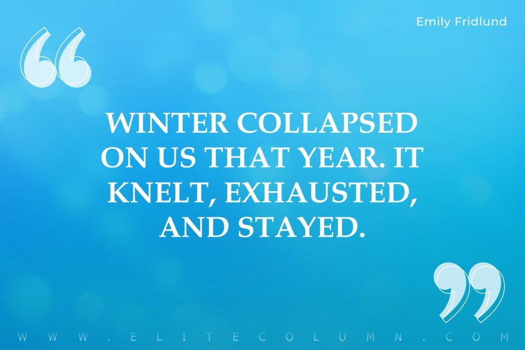 Winter Quotes (7)