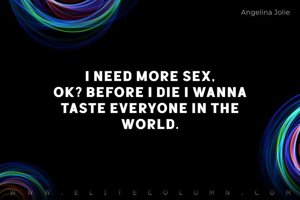 Sex Quotes (5)