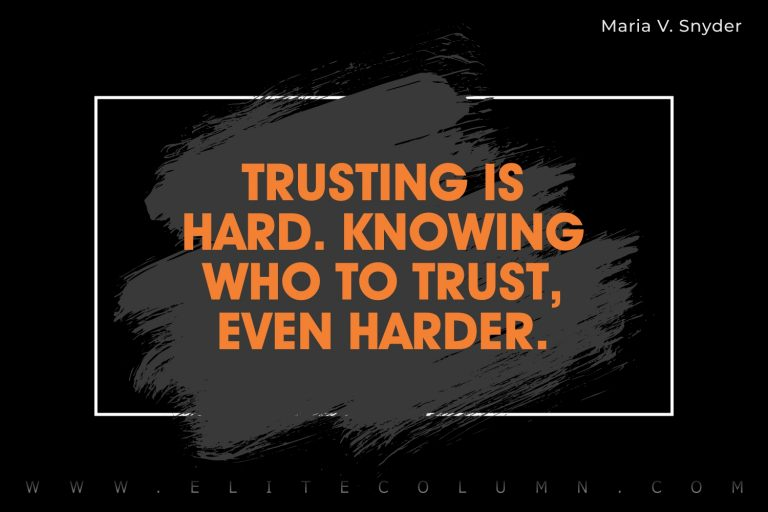 50 Trust Issues Quotes That Will Motivate You
